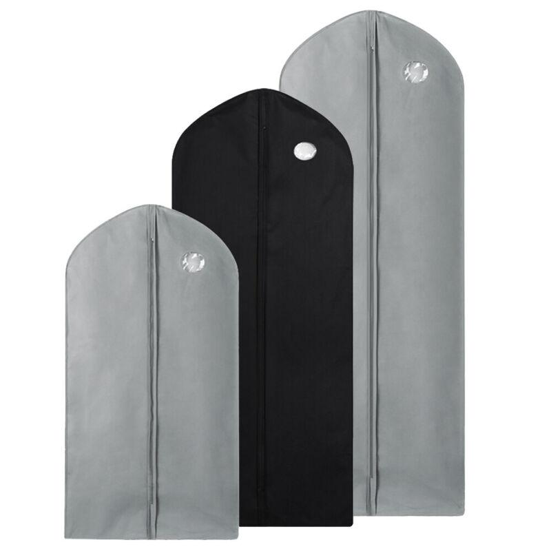 1/5 Garment Bag Suit Storage Cover Dress Clothes Coat Dustproof Protector Travel