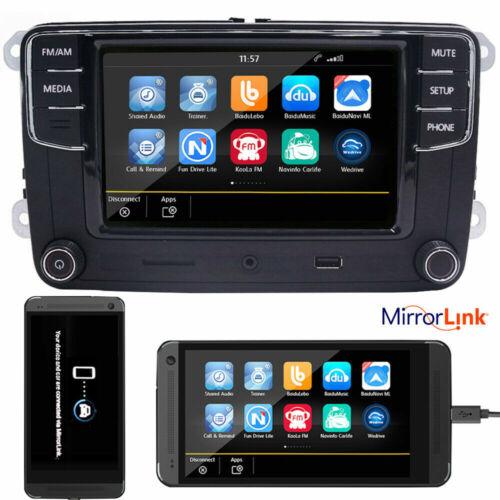 """6,5"""" Autoradio RCD330G+ Mirrorlink,BT,USB Für VW Golf 5 6 Passat Seat Touran T5"""