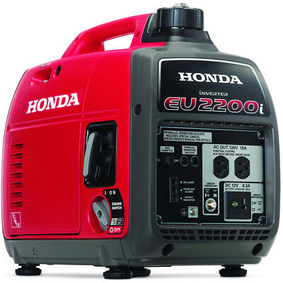 Honda Eu2200i - 1800 Watt Portable Inverter Generator