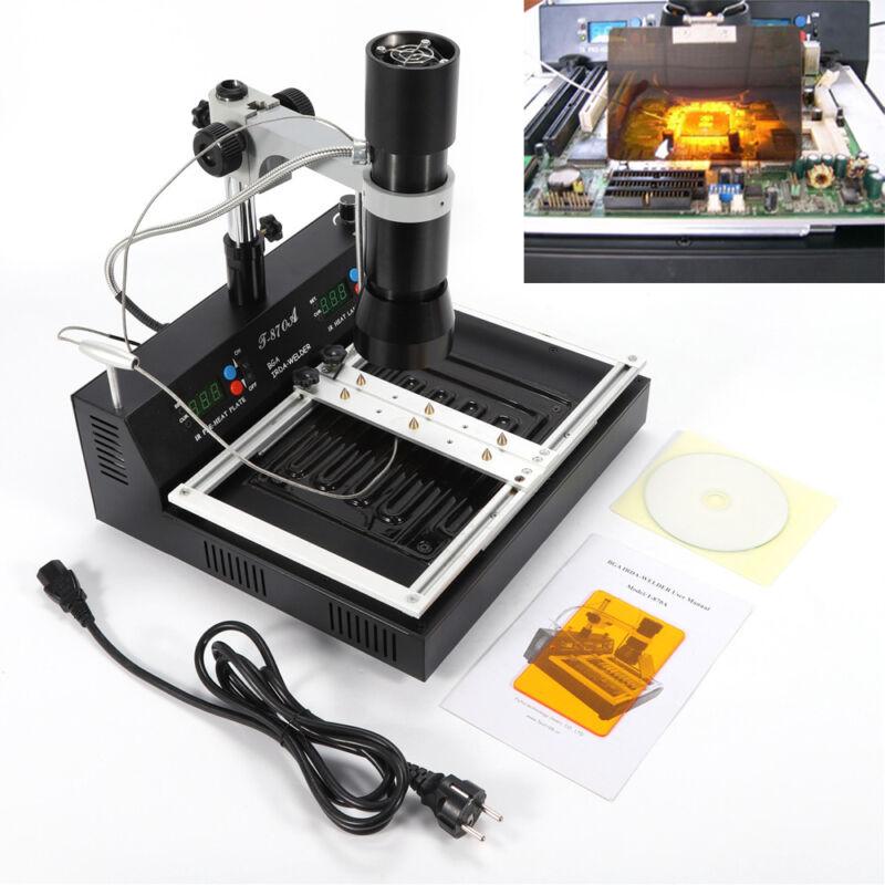 T-870A BGA Rework Station IR Infrared SMD Soldering Station Desoldering best
