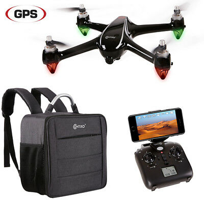 Contixo F18 Quadcopter Drone 1080p HD WiFi Camera Auto Float Bundle Toys Hobbies
