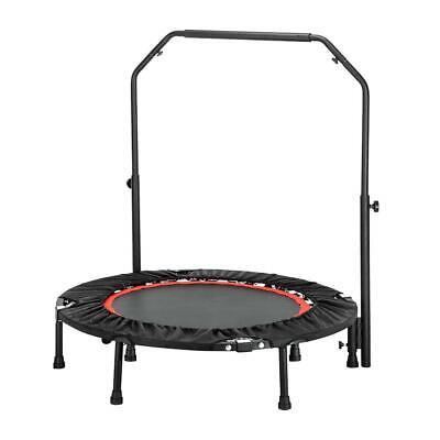 "40"" Mini Rebounder Trampoline Exercise Fitness Gym W/Adjusta"