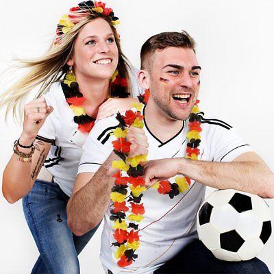 For sale German Trendseller® - 3 x Hawaiianische Deutschland - Blumen Kette ┃ NEU
