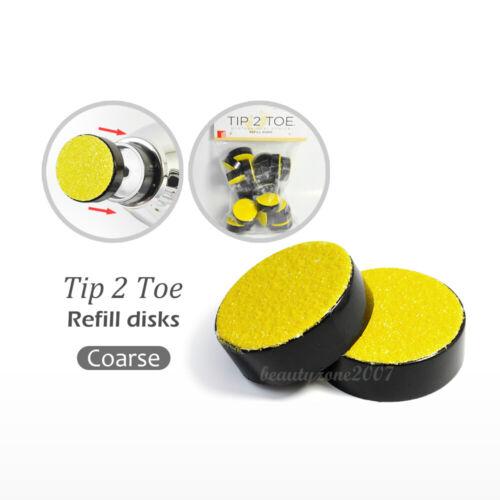 Tip 2 Toe Disks (24-pack) Coarse
