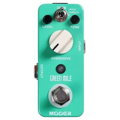 """Mooer Green Mile """"Tube Screamer"""" Overdrive Effect Pedal"""