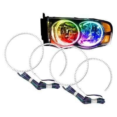 For Dodge Ram 1500 02-05 SMD ColorSHIFT Dual Halo kit for Headlights