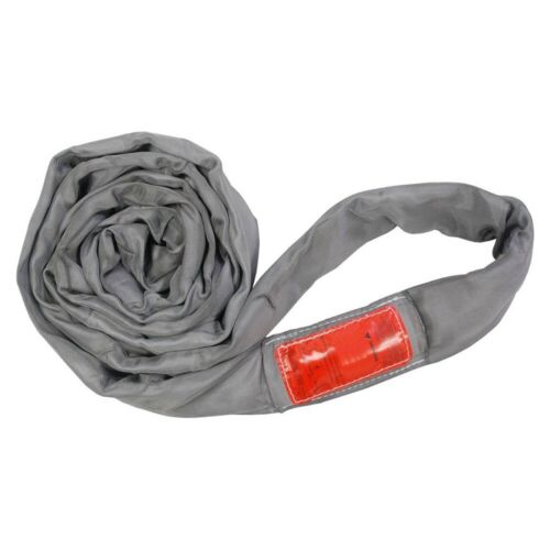 Polyester Lift Sling Endless Round Sling Gray 32000LBS Vertical, 14