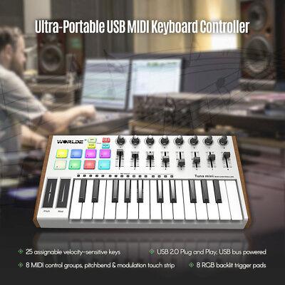 Electronic Keyboards - 25 Usb Midi Controller