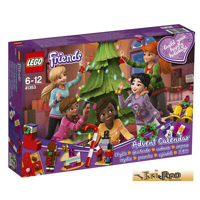 Lego Friends Advent Calendar With Christmas Decorations 41353