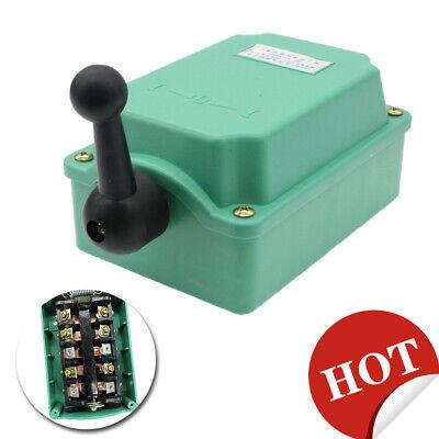 High Quality 60a 0-380v Drum Switch Forwardoffreverse Rainproof Motor Control