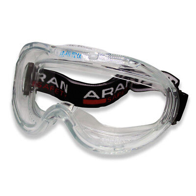 Aran Safety Anti-fog Approved Wide-vision Lab Safety Goggle Ansi Z87.1 Approved
