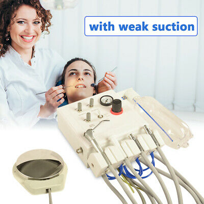 Dental Portable Turbine Unit Water Bottle Work With Compressor 4h Weak Suction