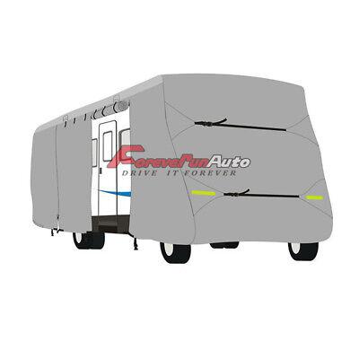 New Waterproof RV Cover For Motorhome Camper Class A 25', 26' ,27' W/ Zipper