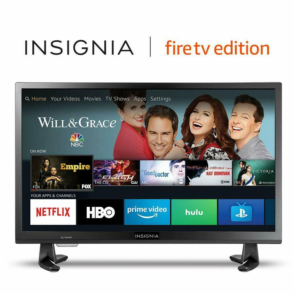 """Insignia 24"""" 720p HD Smart LED TV - Fire TV Edition 24-inch NS-24DF310NA19"""