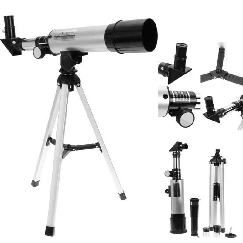 Astronomical Telescope Tube Refractor Monocular Eyepieces Tripod Spotting Scope