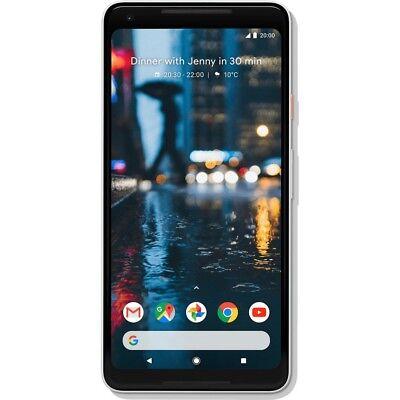 Google Pixel 2 XL 64GB Black-White Android Smartphone Handy ohne Vertrag LTE/4G