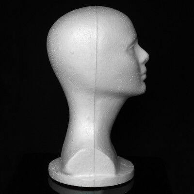 Female Styrofoam Hat Glasses Hair Wig Mannequin Stand Display Head Model Chest