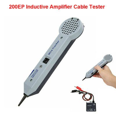 200ep Amplifier Wire Inductive Cable Finder Tester Detector Toner Tone Generator