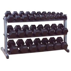 Intermediate Hex Dumbbell and Rack Package *BRAND NEW*
