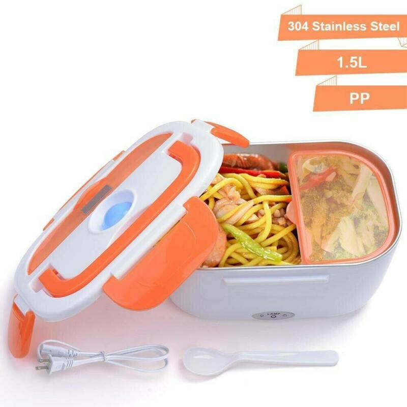 1.5L Electric Heating Lunch Box Food Storage Heater Meal Con