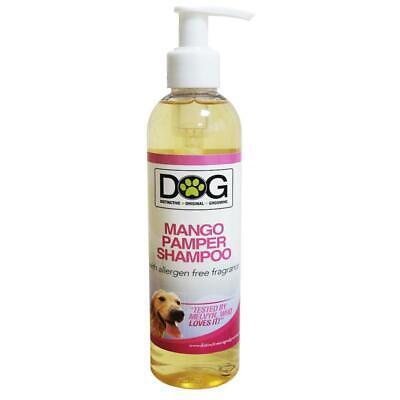 250ml Distinctive Original Grooming Dog Mango Pamper Shampoo