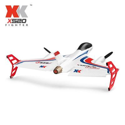 Original XK X520 2.4G 6CH 3D/6G VTOL Vertical Takeoff Land RC Airplane J1R1