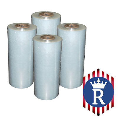 Hand Stretch Film Clear Pallet Wrap 18 X 1500 Ft 80g