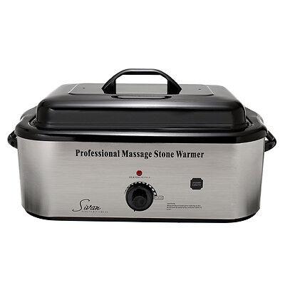 Sivan Health and Fitness 18QHTR Massage LG Professional Hot Stone 18 Qt Heater