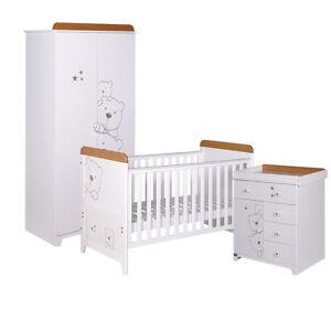 Tutti Bambini 3 Bears 3 Piece Nursery Furniture Set July