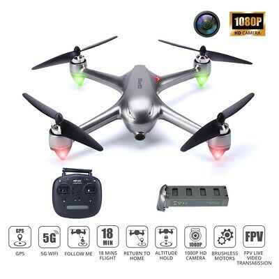 GPS drone with 1080P camera brushless quadcopter 5G WIFI FPV B2SE Bugs tapfly