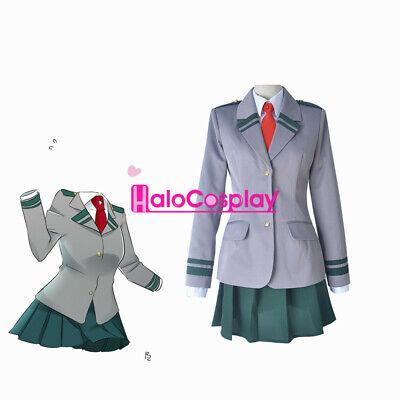My Hero Academia Female Cosplay Costume School Uniform Woman Halloween Outfits](Female Hero Costumes)