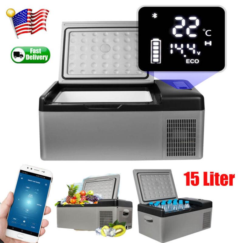 Portable Travel Electric 12V Car Freezer Fridge Refrigerator 15L Cooler Camping
