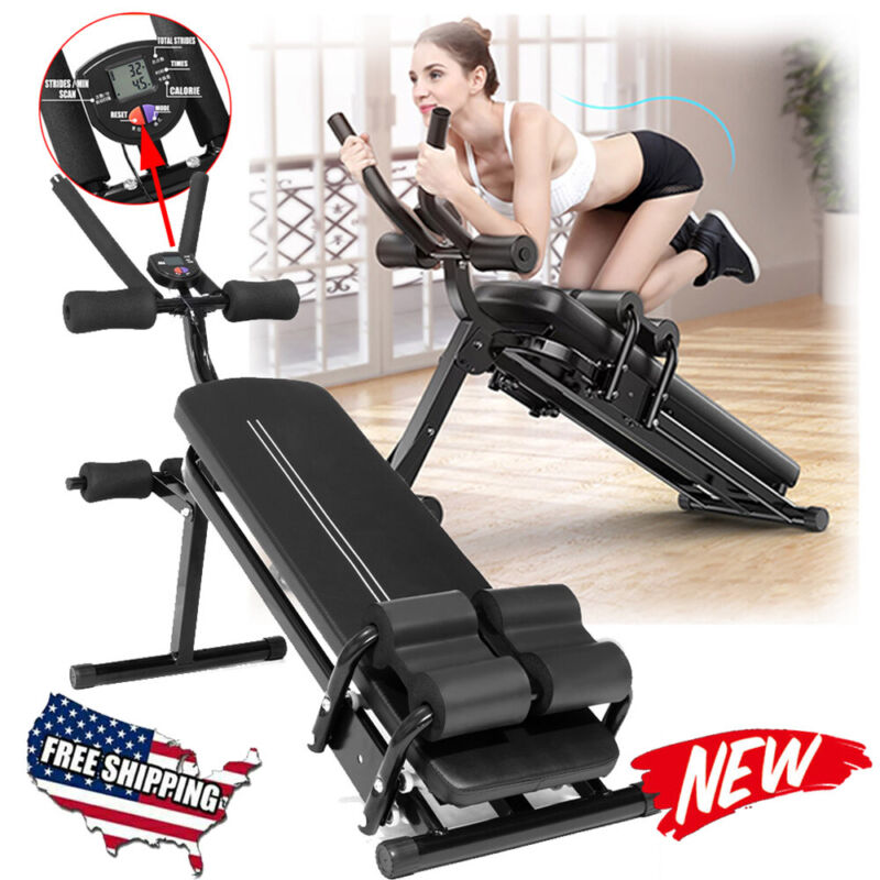 Foldable Sit up Bench Crunch Board Abdominal Fitness Home Gym Exercise Machines