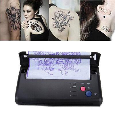 Pro Black Tattoo Transfer Copier Printer Machine Thermal Stencil Paper Maker FDA ()