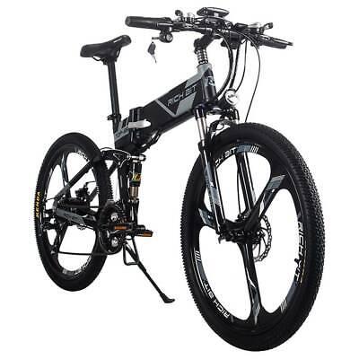 RICH BIT TOP-860 Bicicleta de ciclomotor eléctrica plegable Neumáticos de 26 pul