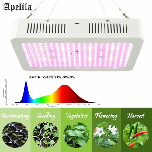 Apelila 5000Watt LED Grow Light Full Spectrum Veg Flower for All Stage Plants