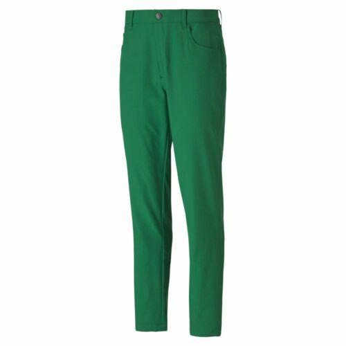 New  Puma Jackpot 5 Pocket Golf Pants Amazon Green Style# 577975 Pick Size-