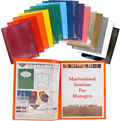 Storesmart 2- Pocket Plastic Folders 16 Pack- For Schools And Offices- R900all16