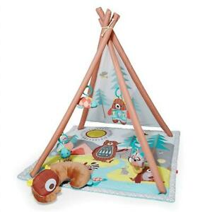 NEW Skip Hop Camping Cub Baby Play Mat Activity Gym, 36 x 38h, Multi Colored Condtion: New, Camping Cub