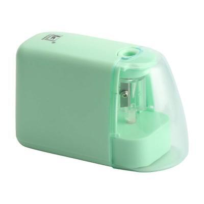 Portable Kids Electric Pencil Sharpener Battery Operated With Pink Cover Small