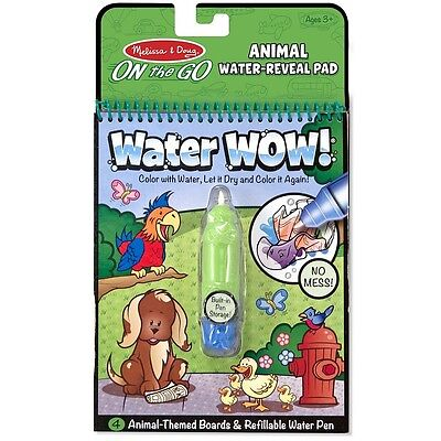Melissa - Doug Water Wow Water-Reveal Activity Pad, Animals 1 ea