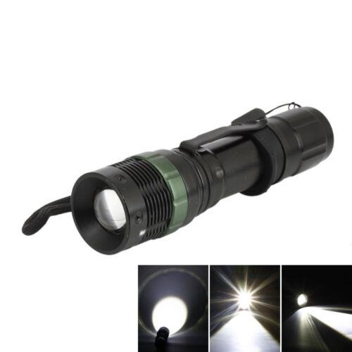 10000Lumens 7W Flat Focusing LED Zoom Flashlight Camping Lamp White Light