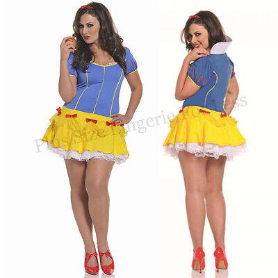 Plus Size Halloween One Size 1/2X or 3/4X Snow Princess Costume  STM10189X  - Plus Size Princess Costumes