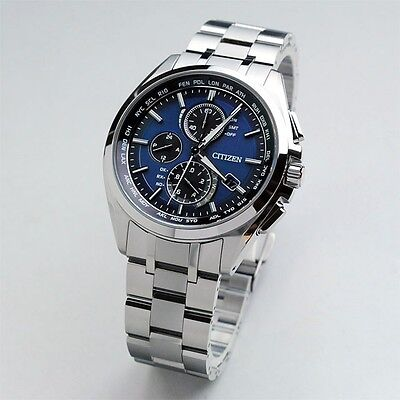 NEW Citizen ATTESA Eco-Drive Men's Watch  AT8040-57L F/S JAPAN Best