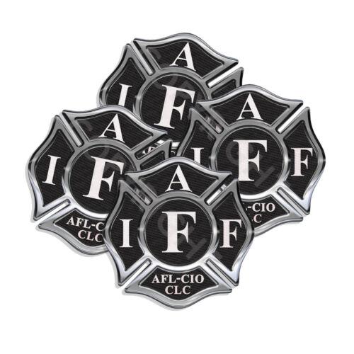 IAFF Sticker Decals 4 pack Firefighter Int