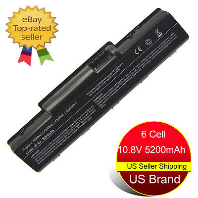 6 Cell Battery for Acer Aspire 5516 5517 5532 5334 5732z AS09A31 AS09A41 AS09A61