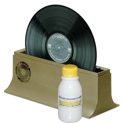 Fluid Concentrate for HAND WASHING vinyl RECORDS for 2 GAL (YELLOW CAP)