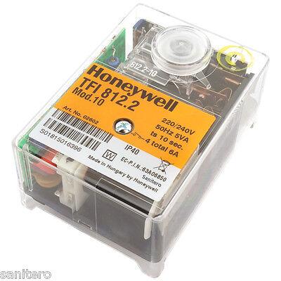 Feuerungsautomat Satronic Honeywell TFI 812.2 Mod. 10 Steuergerät Gasbrenner