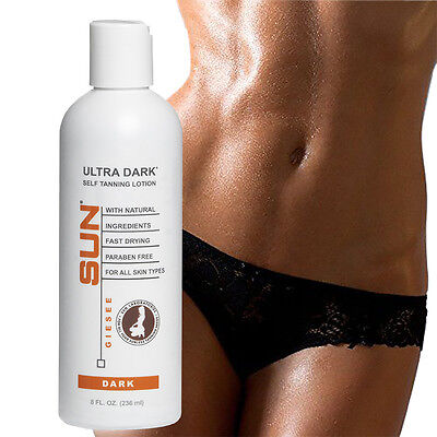 Ultra Dark (Dark) Sunless Tanning Lotion by Sun Labs Ships Fast!  Fresh & New!