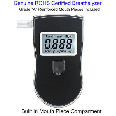 Advance Police Digital Breath Alcohol Tester Breathalyzer Analyzer Detector.